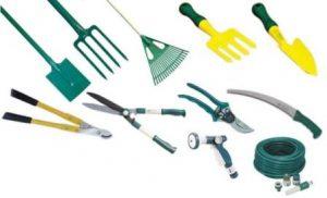 Herramientas básicas de jardinería